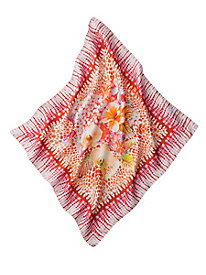 Tropical Floral Silk Neckie