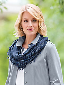 Echo® Abstract Geo Infinity Scarf