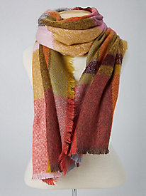 Multi-Plaid Scarf