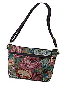 Rose Garden Tapestry Handbag