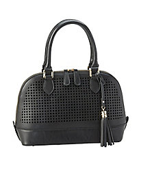 Perforated Dome Handbag