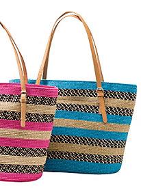 Multi-Media Stripe Bag