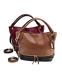 Slouchy Shoulder Bag by Appleseed's