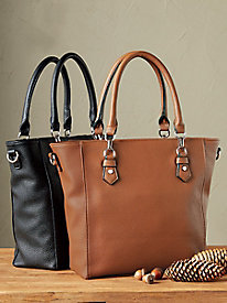 Convertible Zip-Top Tote