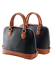 Colorblock Dome Satchel