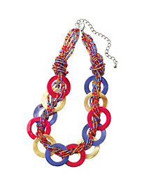 Color Rings Necklace
