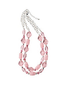 Pretty-in-Pink Necklace