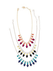 Polished Drops Necklace