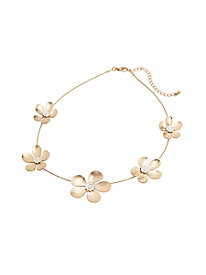 Golden Blossoms Necklace