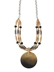 Sea Shell Pendant Necklace