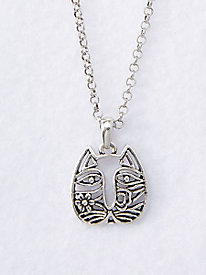 Cat Face Necklace by Laurel Burch