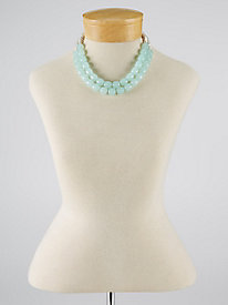 Double Row Beaded Necklace...