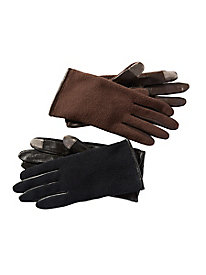 Touch-Sensor Fleece Gloves