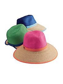 2-Tone Sun Hat by Caribbean Joe Island Supply Co.