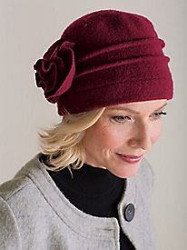 1920s Accessories Guide Cute  Cozy Cloche $34.99 AT vintagedancer.com
