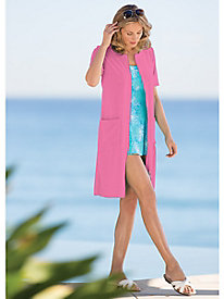 Loop-Terry Swim Coverup