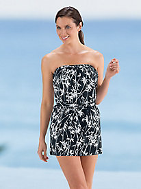 Two-piece Bandeau Swim Dress by Ceeb