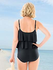 Double-Tiered Maillot by Rose Marie Reid®