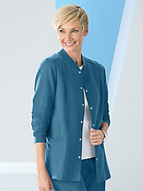 Casual Fleece Multi-Pocket Cardigan