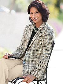 Exeter Tweed Boyfriend Jacket