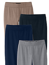 Comfort Waist Bi-Stretch Pants by Briggs New York