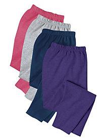 Casual Fleece Pull-On Pants