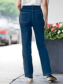 5-Pocket Jean with Side Elastic