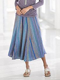 Madras Stripe Skirt
