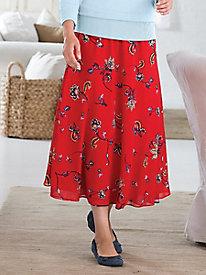 Reversible Print Skirt...