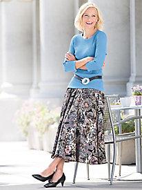Paisley Circle Skirt