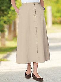 Easy Day Chino Skirt