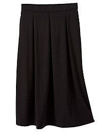Ponte Pleated Skirt
