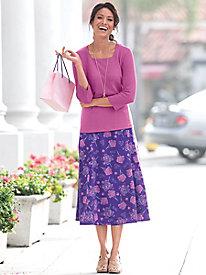 Spring Lilacs Skirt