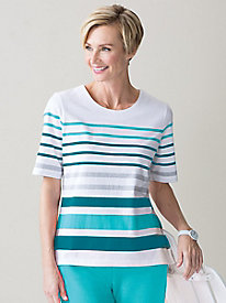 Casual Stripe Tee