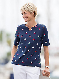 Koret Francisca Sailboat Tee