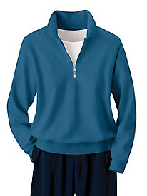 Casual Fleece 1/4-Zip Top