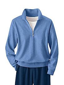 Casual Fleece 1/4-Zip Top