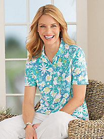 Fiesta Floral Polo by Haymaker