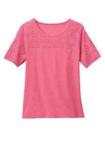 Carefree Lace Tee by Tog Shop