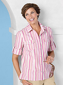 Striped Shirt by Koret...