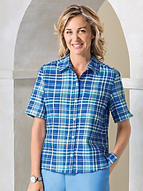 Plaid Camp Shirt