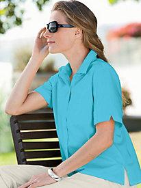 Short-Sleeve Broadcloth Shirt