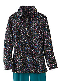 Cherry Print Blouse by Koret