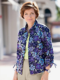 Fairview Floral Shirt Jacket