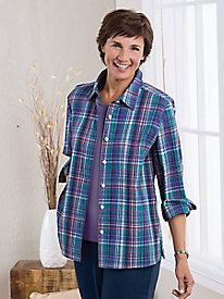 Bayfield Plaid Crinkle Shirt