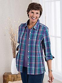 Bayfield Plaid Crinkle Shirt