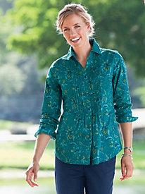 Mackenzie Pleated Shirt