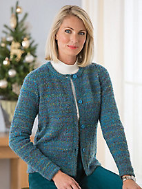 Bouclé Cardigan by Koret®