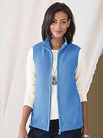 Koret® Textured Sweater Vest