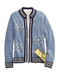Snowflake Cardigan